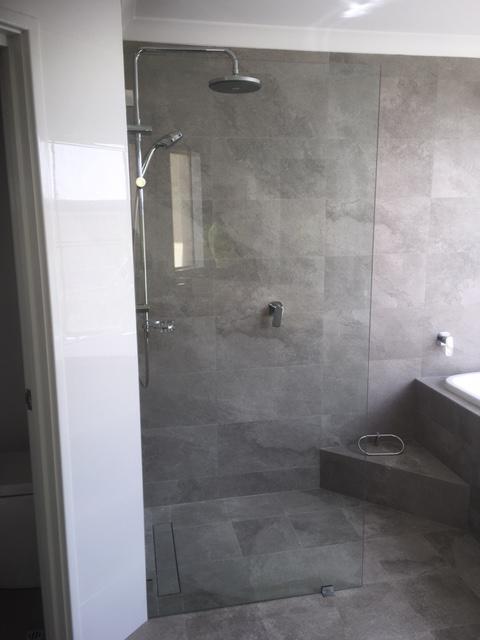 10mm Frameless Panel - Shower Screen Installation