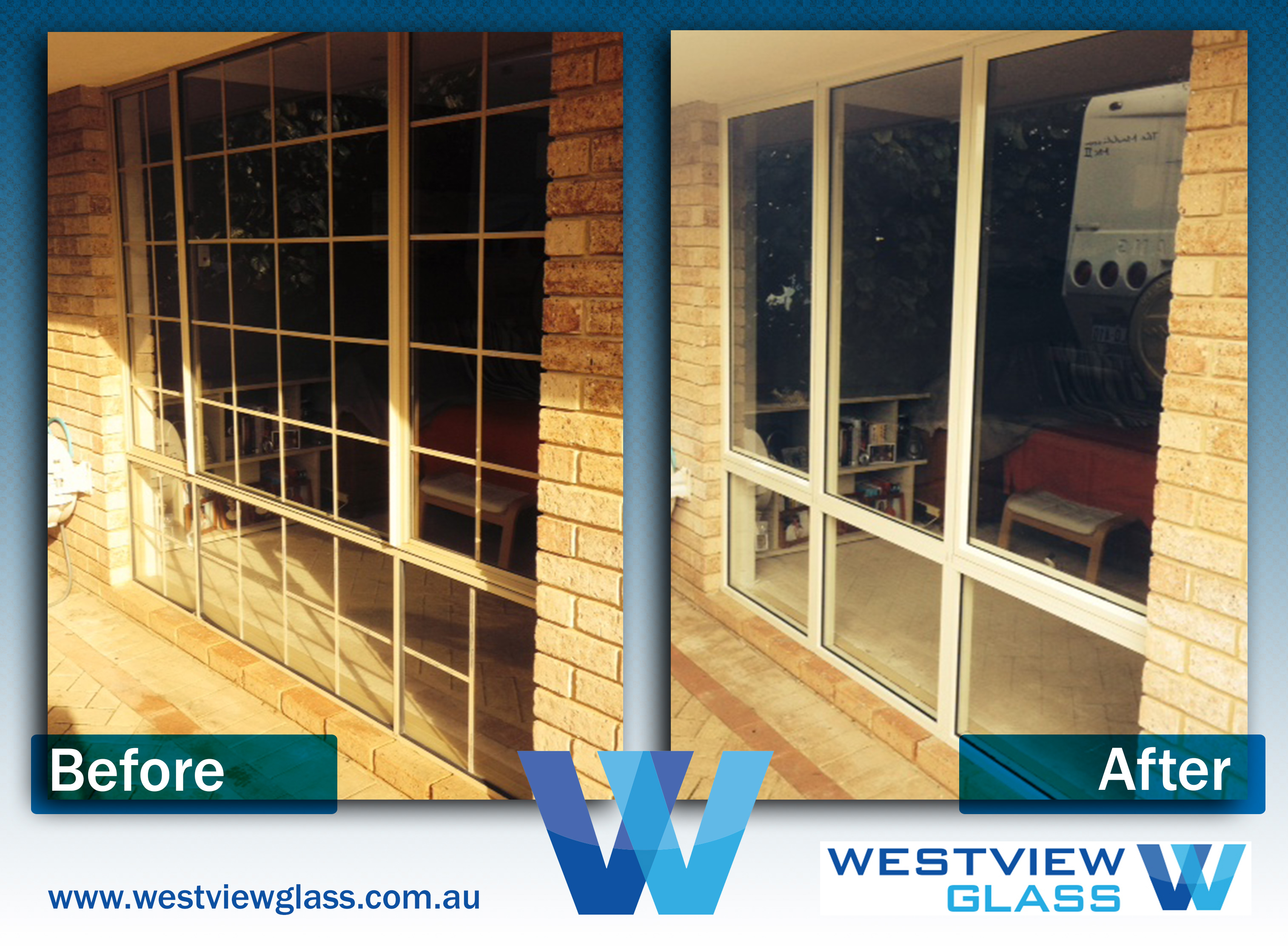 Awning Windows 6lite Slider with Colonial Bars 6lite Awning - Aluminium Window Gallery – Before & After