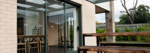 Glass and Aluminium Sliding Door in Perth
