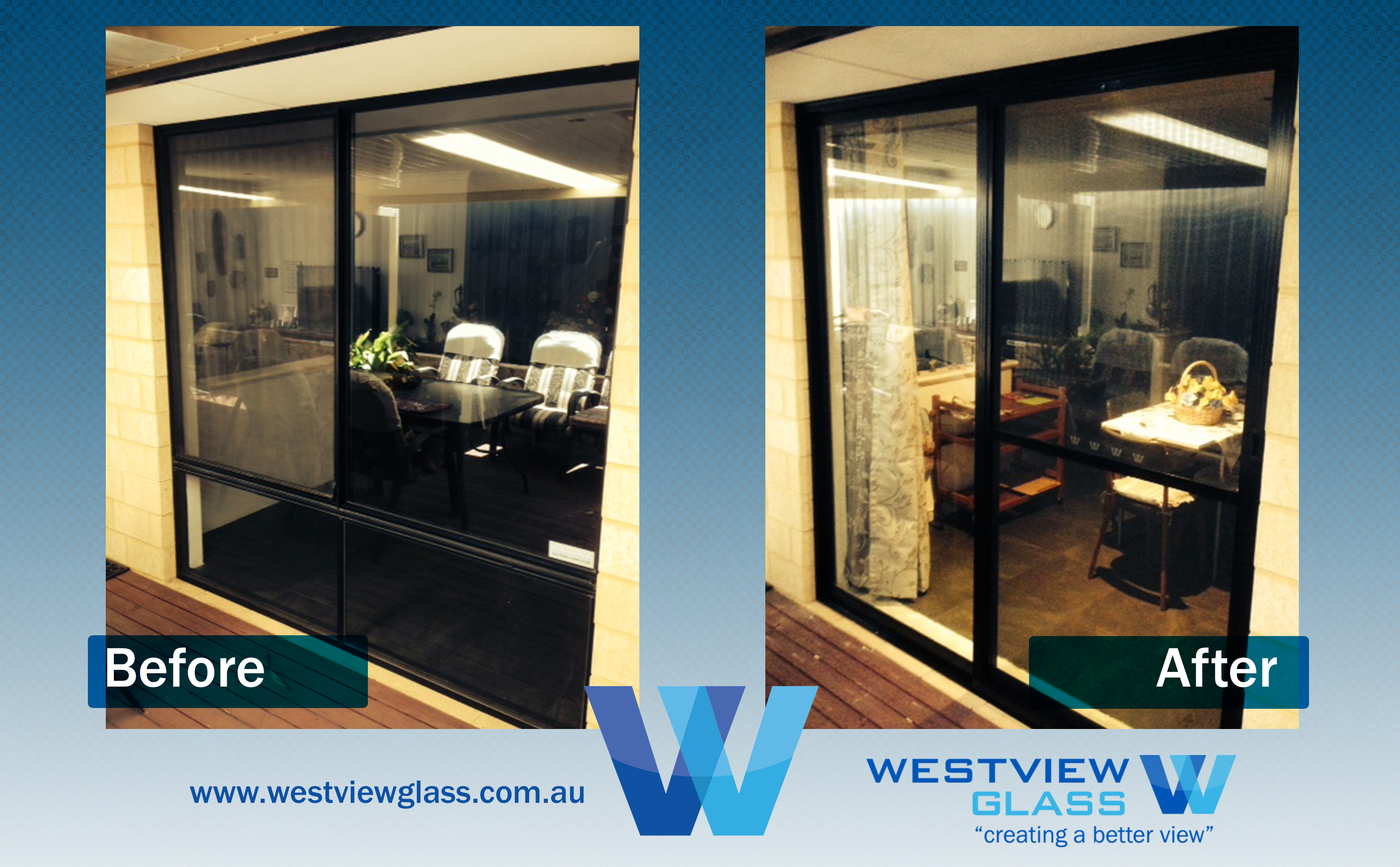 Sliding Door -4lite Window = Black FS with Fly Door - Sliding Window Installation Perth