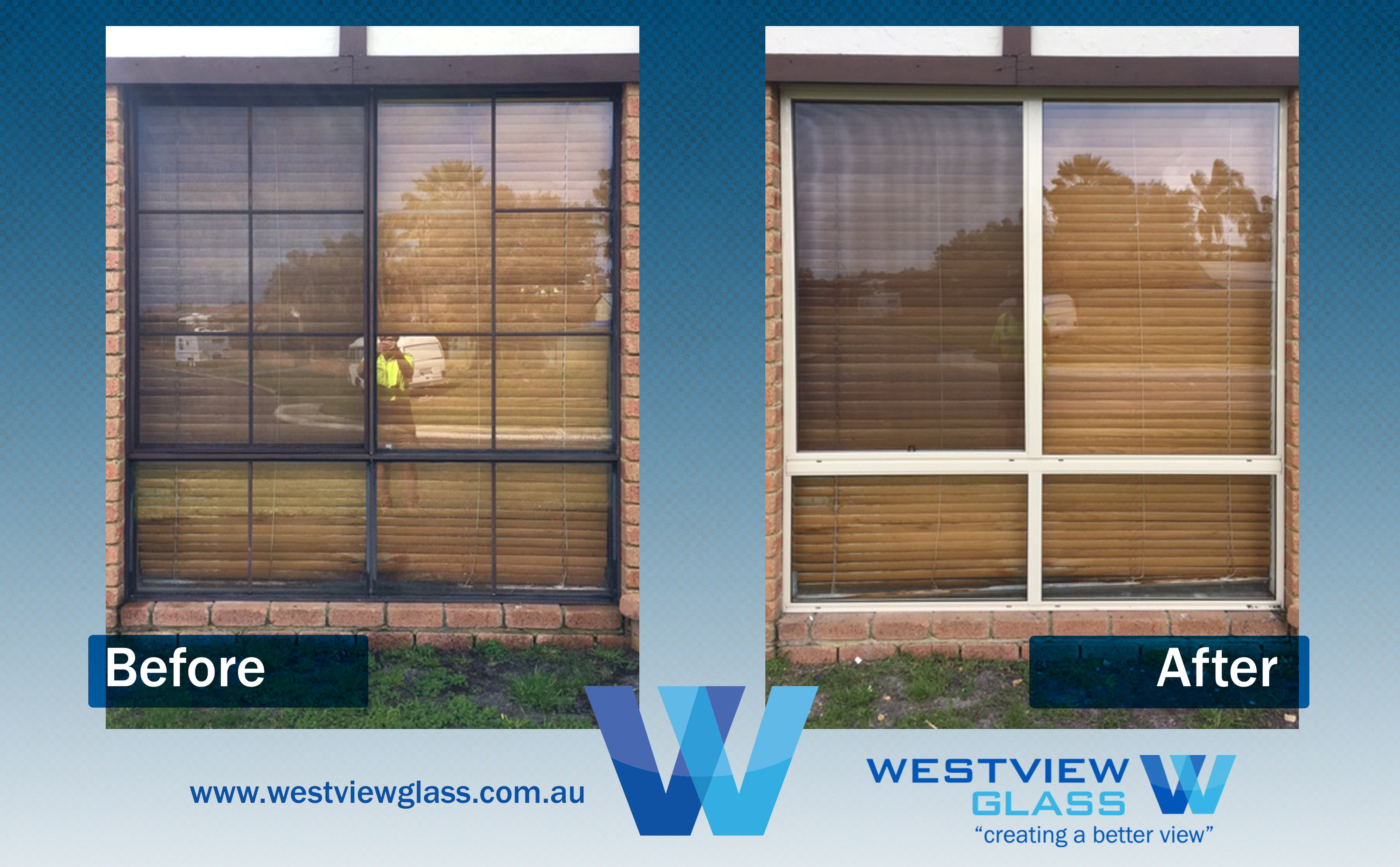Sliding Window Bronw with Colonila Bars Magnolia Clear Glass - Aluminium Window Gallery – Before & After