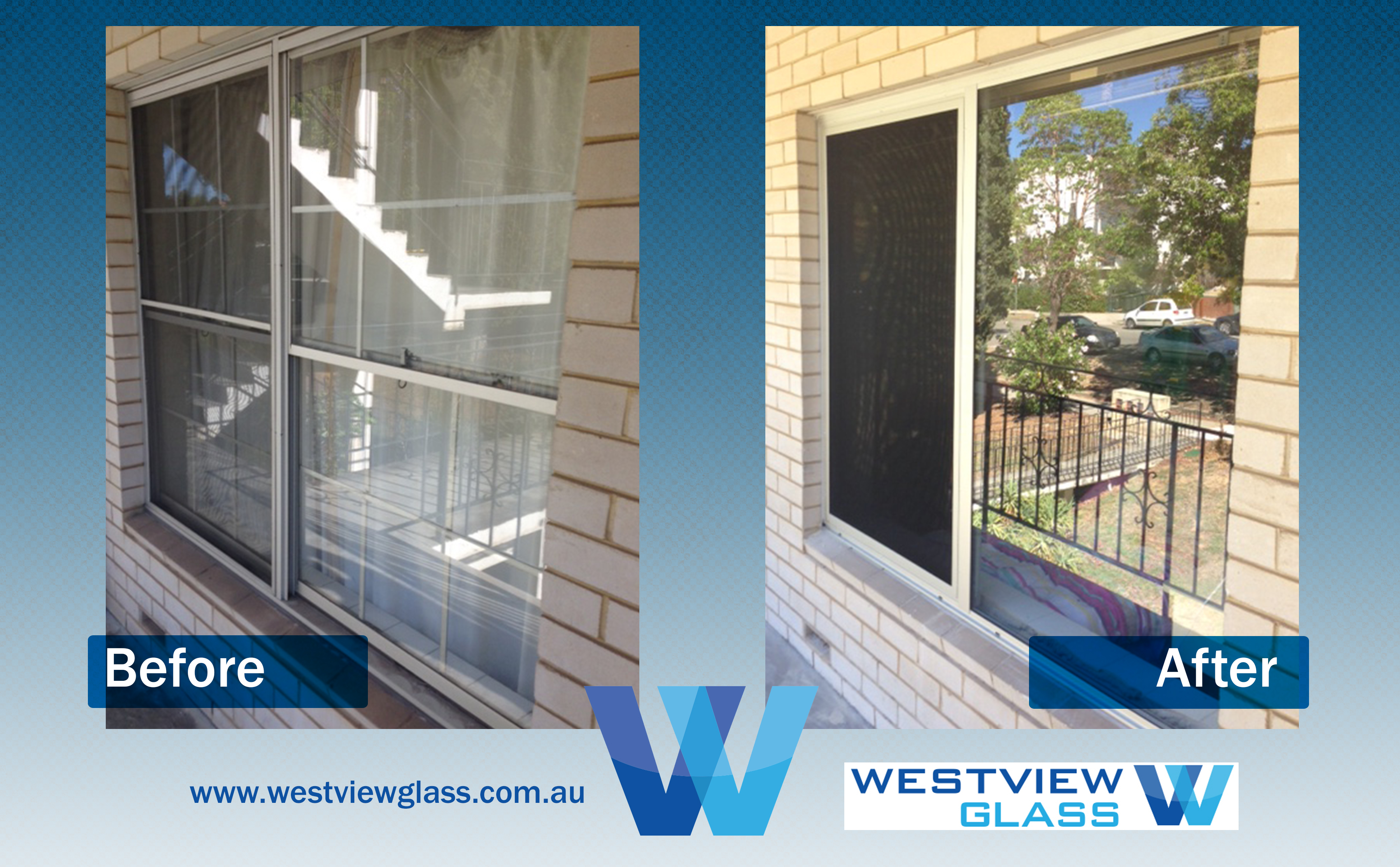 Sliding Window Clear Ano Double Hung Clear Anodised Slider with Invisigard - Aluminium Window Gallery – Before & After