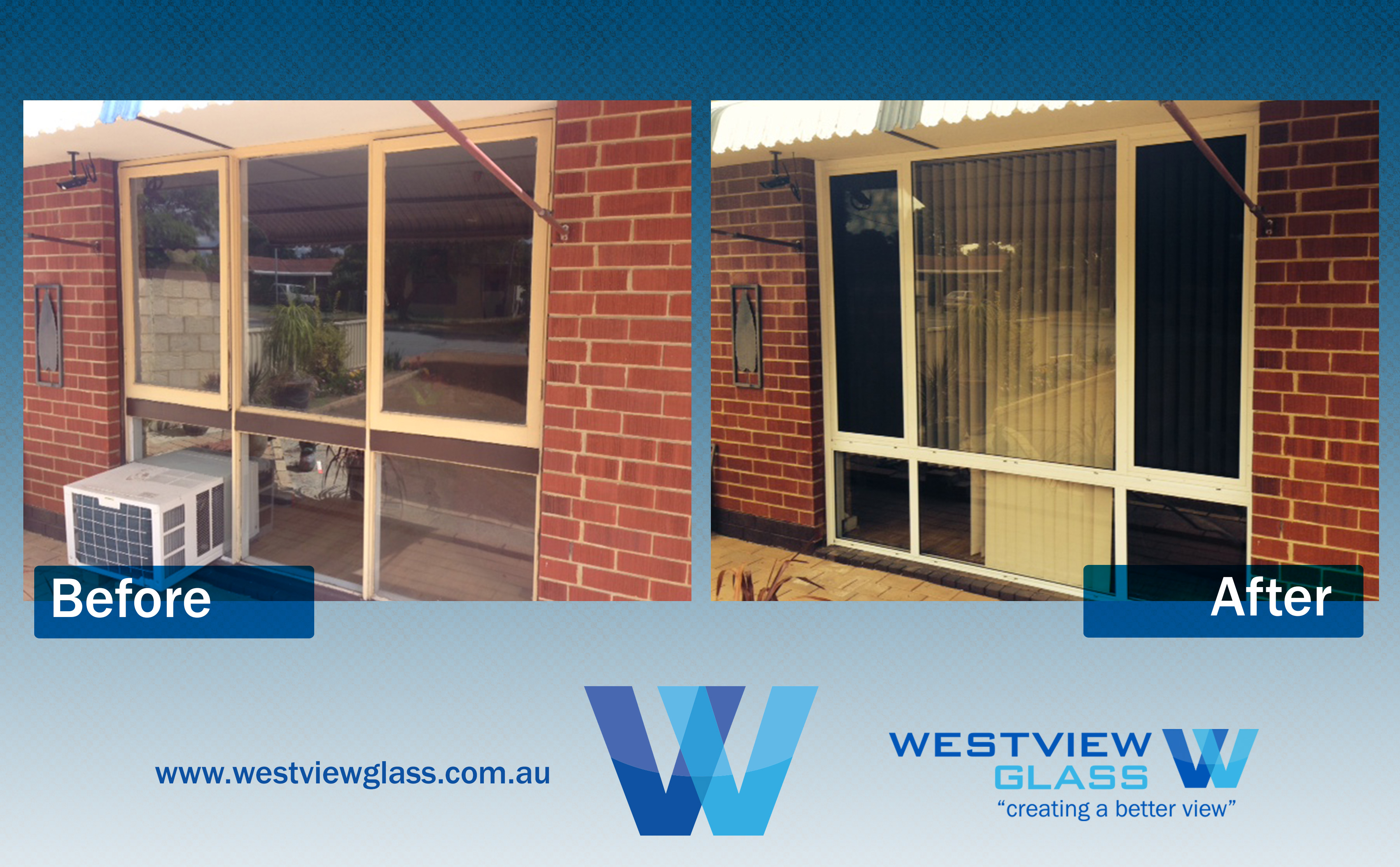 Sliding Window Timber Awnings 6lite White sliding window with Invisigard - Aluminium Window Gallery – Before & After