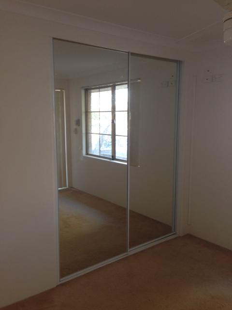 White 2lite Mirror Robe doors - Wardrobe Door Installation
